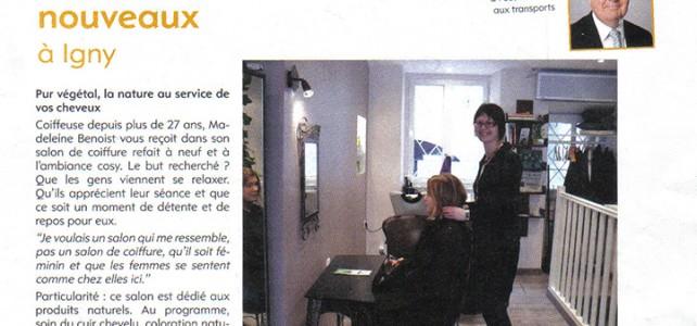 Reflet d'Igny – mars 2012 :  ils sont nouveaux à Igny