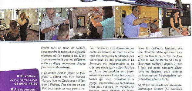 Igny Magazine (spécial coiffeurs)-septembre 2015
